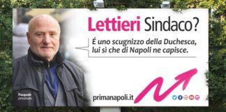 Campagna elettorale Lettieri