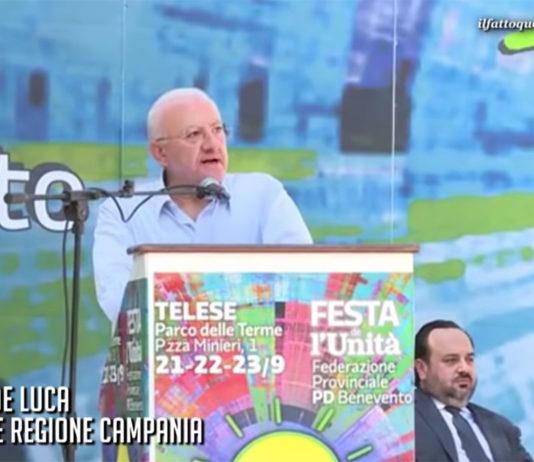 Vincenzo De Luca - Telese Terme - Festa de l'Unità