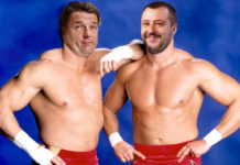 renzi e salvini wrestling